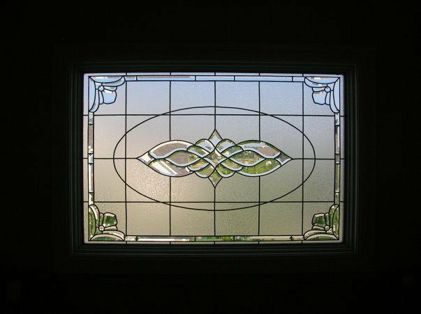 Bathroom Privacy Glass Overlay