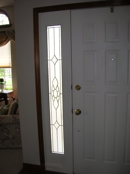 Stained Glass Overlay Sidelight