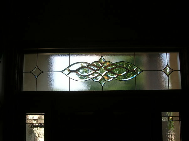 Leaded Transom Overlay