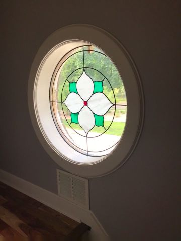 Round Stained Glass Overlay
