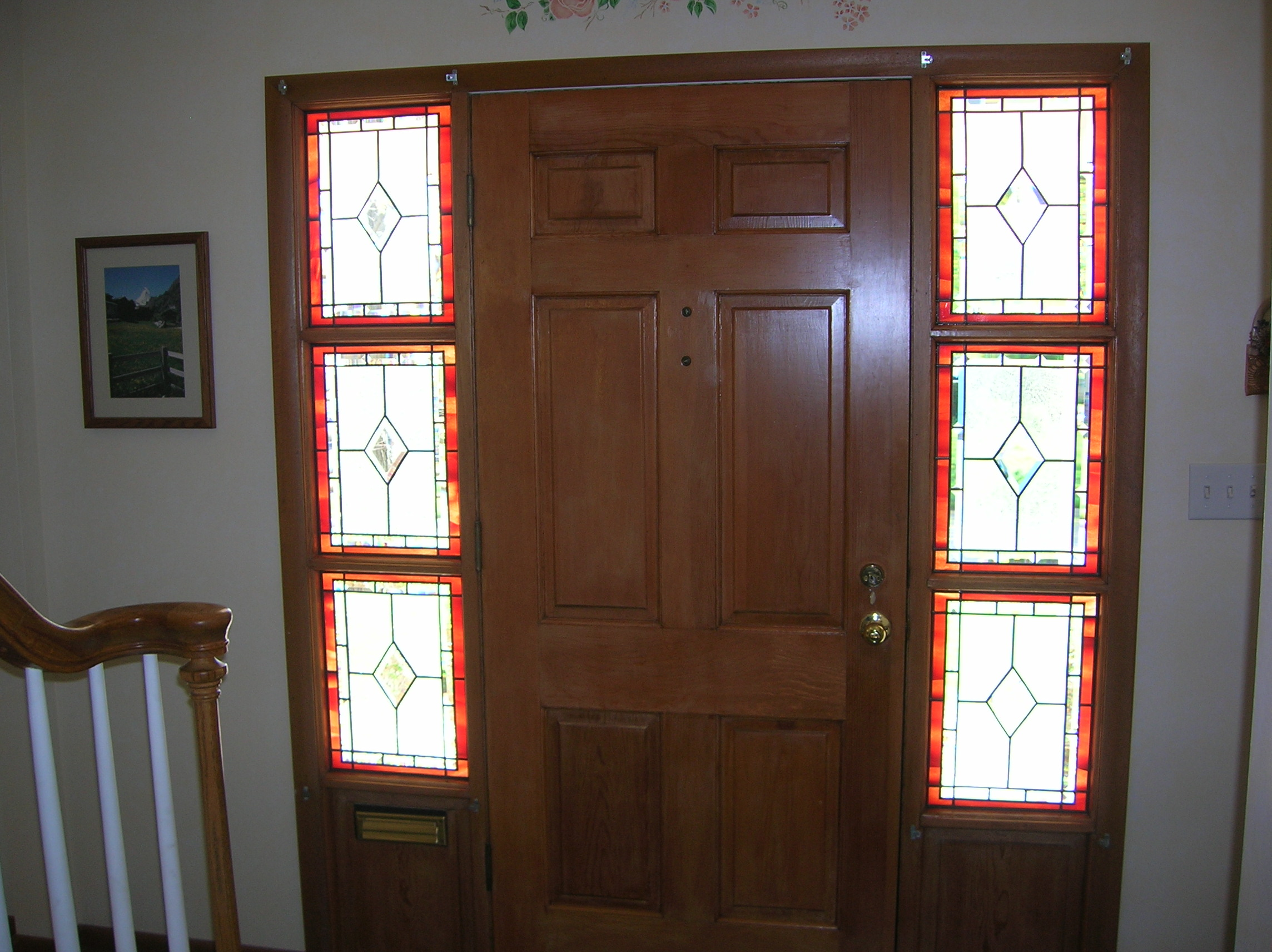 Stained Glass Overlay Sidelights