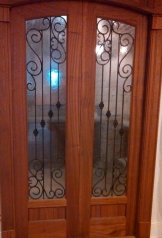 Wien Room Doors Iron