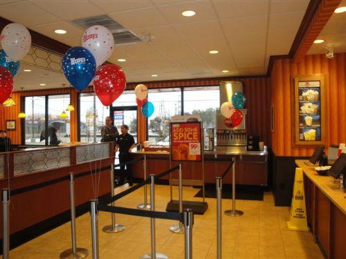 Fast Food Custom Glass Overlay Dividers